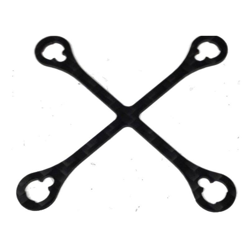 Carbon Verstärkungskreuz für den orig.Inductrix-Rahmen, 5,0
